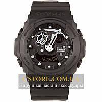 Мужские наручные часы Casio g-shock ga-300 black black (05856), фото 1