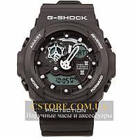 Мужские наручные часы Casio g-shock ga-300 black black (05857), фото 1