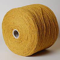 Пряжа Morgana, жёлтый насыщенный (80% меринос, 20% ПА; 280 м/100 г)