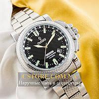 Мужские механические наручные часы Российской сборки Рекорд Стандарт (05947)