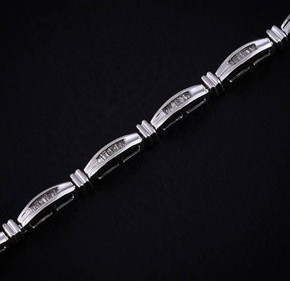 Женский браслет из белого золота с бриллиантами С6Л2№36
