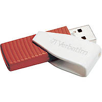 USB флешка Verbatim Store'n'go SWIVEL 16Gb red ( 49814 )