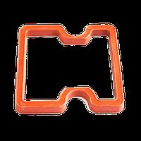 Прокладка КАМАЗ крышки клапанной красный силикон 740.61003270