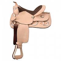 Седло ковбойское Roughout  для лошади, осла, мула