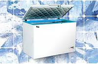 Морозильные лари JUKA M 400 Z, 406 л с глухой крышкой