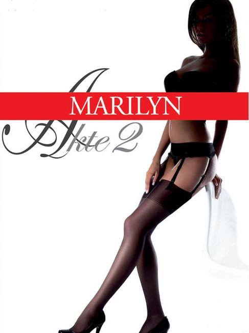 Классические чулки Marilyn AKTE II 15 Den. Цвета в ассортименте