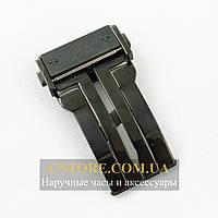 Застежка для часов Hublot King Power black 24mm (06117)