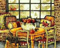 Наборы для творчества 40 × 50 см. Зимний натюрморт Худ Бловерс Лиза