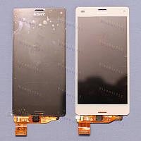 Оригинальный ЛСД экран и Тачскрин сенсор Sony Xperia Z3 Compact модуль