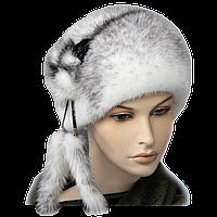 """Норковая шапка """"шарик"""" женская зимняя"""