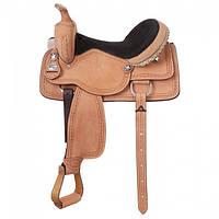 Седло ковбоя для лошади, Cowboy W/Barbwire