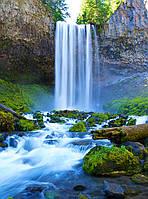 """Фотообои """"Водопад над рекой"""" под индивидуальный размер"""