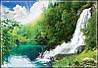 "Фотообои ""Бурный водопад"""