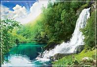 """Фотообои """"Бурный водопад"""" под индивидуальный размер"""