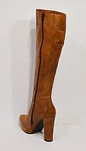Горчичные осенние сапоги Hammer 265/1, фото 3