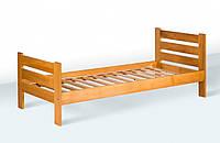 Ліжко односпальне (1900*800) (бук)