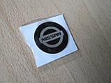 Наклейка s круглая NISSAN 20х20х1.2мм силиконовая эмблема логотип марка бренд в круге на авто Ниссан, фото 4