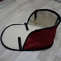 Матрас на санки меховой Red (цвета разные)