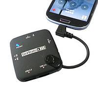 Micro USB микро OTG HUB кардридер все в одном ХАБ