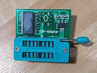 Адаптер колодка для программатора 1.8V SOP8 DIP8 W25 MX25
