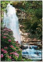 """Фотообои """"Водопад с гор"""" под индивидуальный размер"""