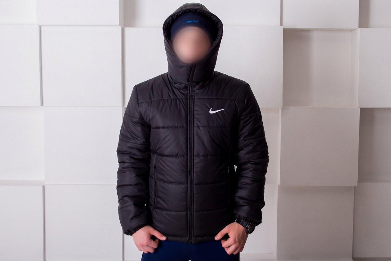 29520aa8 Зимняя мужская куртка Nike черная топ реплика: продажа, цена в Киеве ...