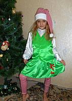 Карнавальный костюм  эльфа девочка  прокат. Костюм  гнома прокат