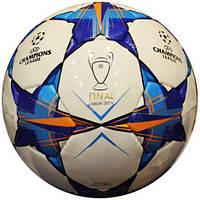 М'яч футбольний Ламін-PU CHAMPIONS LEAGUE (№5, 5 сл., зшитий вручну), фото 1