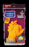 Перчатки хозяйственные латексные Добра Господарочка размер XL