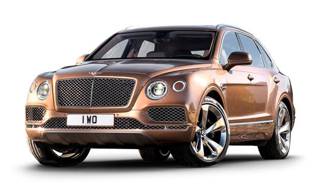 Диски и шины на Bentley Bentayga