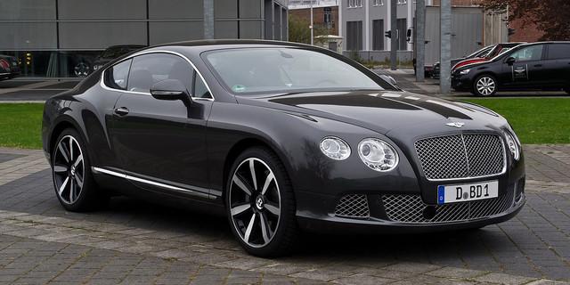 Диски и шины на Bentley Continental GT