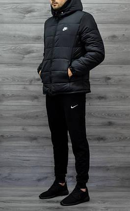 96c184c4 Зимняя мужская куртка Nike черная топ реплика: продажа, цена в Киеве ...