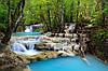 "Фотообои ""Голубой водопад"""