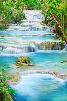 """Фотообои """"Голубые водопады"""" под индивидуальный размер"""