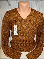 Свитер WoolLine меланж 002/ купить оптом свитер зимний
