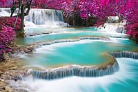 """Фотообои """"Необычный водопад"""" под индивидуальный размер"""