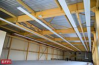 Панель климатическая для отопления и охлаждения помещений