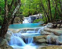 """Фотообои """"Яркий водопад"""" под индивидуальный размер"""