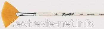 Кисть синтетика плоска м'яка, серія 1272, Roubloff № 6, фото 2