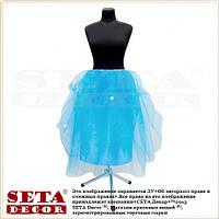 Голубая юбка Эльза новогодняя
