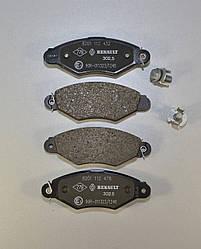 Дискові гальмівні колодки (передні) на Renault Kangoo 98->2008 — Renault (Оригінал) - 7701208142