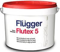 Латексная краска для стен и потолков Flugger Flutex 5, ведро 10 л