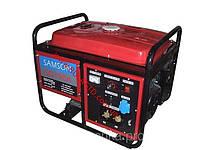 Генератор сварочный SAMSON SQ-190A (сварочный, ток 210А, бензин )
