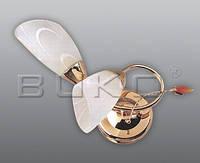 Бра BUKO 2*E14 золото+белый