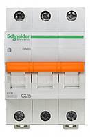Автоматический выключатель SCHNEIDER ВА63 3П 25A C