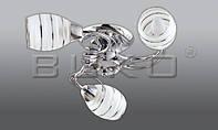 Люстра BUKO 3*Е14 хром D520*H130мм