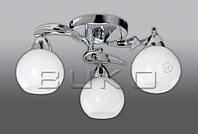 Люстра BUKO 3*Е14 хром+белый D460*H210мм