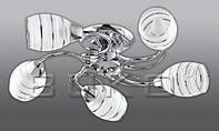 Люстра BUKO 5*Е14 хром D520*H130мм
