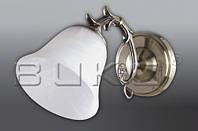 Бра BUKO 1*E27 бронза+белый