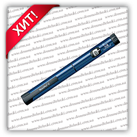 Шприц-ручка Новопен 4 (Novopen 4) синий металлик